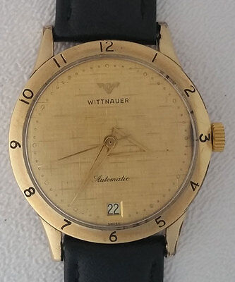Vintage Wittnauer Automatic Cal. C11SN  Watch Works & Keeps Time