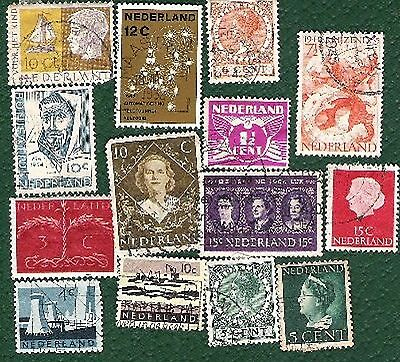 Postage Stamps Holland - 31 stamps