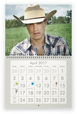 DUSTIN LYNCH 2017 Wall Calendar