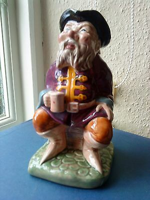 MELBA WARE Tale Teller Large Toby Jug - 8¼ Inches