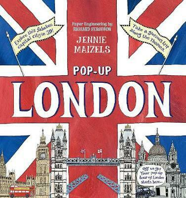 Pop-up London by Jennie Maizels (English) Hardcover Book Free Shipping!