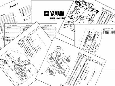 Yamaha Xs650 1981 1U3 Uk Parts List Xs 650