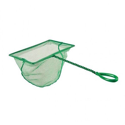 Green Pond Aquarium Fish Net 28cm Twisted Handle Home School Supply UK SELLER