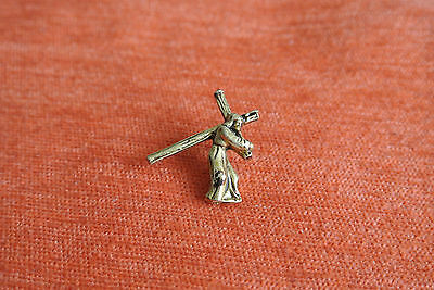 17675 Pin's Pins Religion Catholique Le Christ Jesus Croix Cross