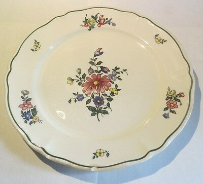 Assiette « Villeroy & Boch Mettlach Alt Strassburg Made in Germany »