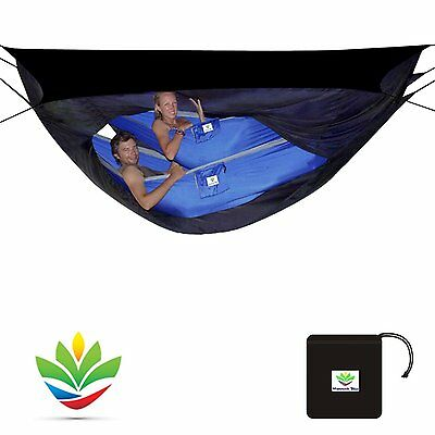 Outdoor Camping Hiking Hammock Tent Redefined Complete Protection 2 Person Black