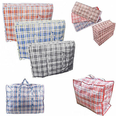 Laundry Jumbo Bags Zipped Large Reusable Strong Storage Shopping Bag Free Post