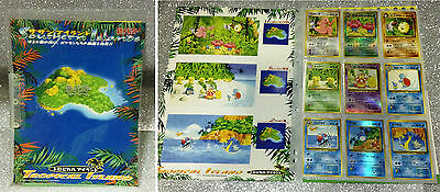 Pokemon Southern Islands Collection Tropical Islands Folder 9 Cards Limited