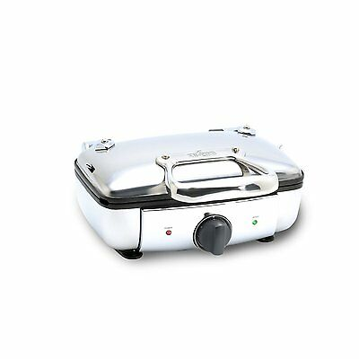 All-Clad 99011GT STAINLESS STEEL BELGIAN WAFFLE MAKER W/ 7 BROWNING SETTINGS NEW