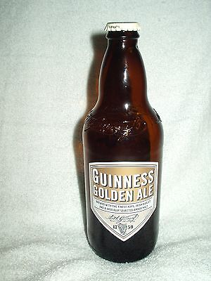 Guinness Golden Ale Bottle 500ml Glass British Limited Edition EMPTY