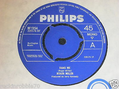 Roger Miller - Dang Me 1964 Philips Classic Country Rock 45rpm