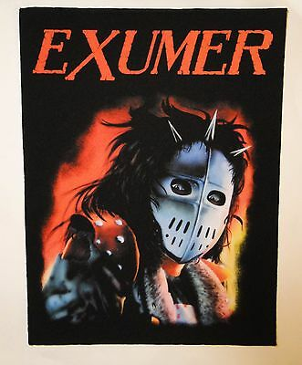 EXUMER Possessed by Fire BACK PATCH printed NEW thrash metal