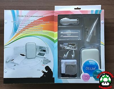 Nintendo DS Lite 15 in 1 Accessory Pack