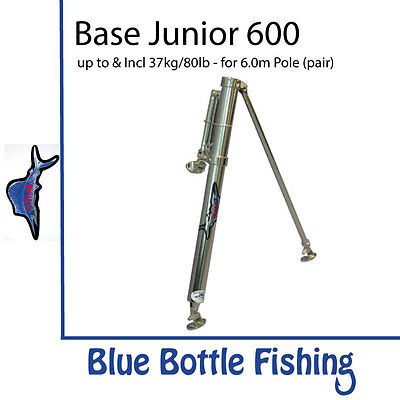NEW Reelax - Outrigger Base - Junior 600 (Pair) from Blue Bottle Fishing