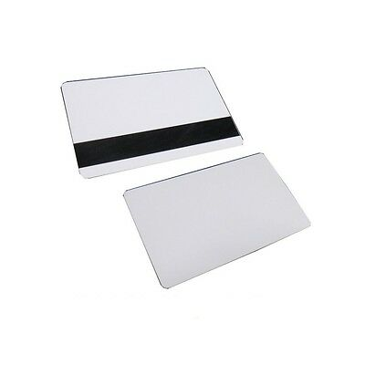 Mag Strip Inkjet PVC Blank ID Cards HiCo Matte Epson Canon Magnetic- [10Pcs LOT]