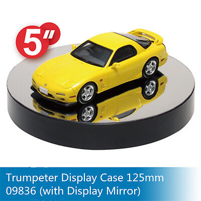 Trumpeter 09836 Model Display Turntable Round Mirrore 125mm/5''(ModelnotInclude)