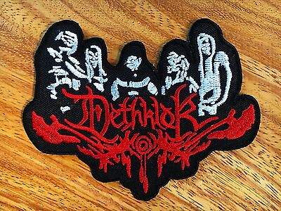 New DETHKLOK Embroidered Iron On Death Metal Patch