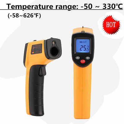 Temperature Gun Non-contact Infrared IR Laser Digital Thermometer SM