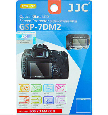 JJC GSP-7DM2 Optical Glass LCD Screen Protector for Canon 7D MARK II  7D2