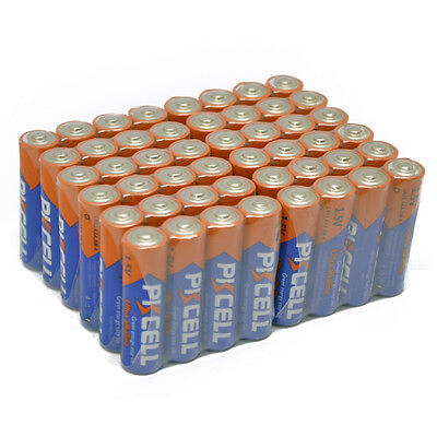 48 x PKCELL Industrial Procell AAA Alkaline Batteries LR03 MN2400 1.5V EXP2025