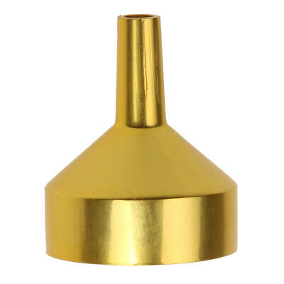Wholesale Metal Gold Mini funnels for Perfume Liquids Small Funnel Tools