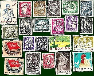 Postage Stamps  Romania