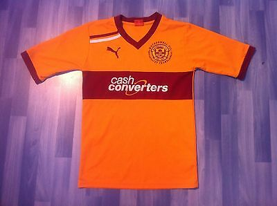 Small Adults Motherwell Football Shirt 2011-2012 Home