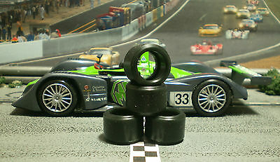 1/32 URETHANE SLOT CAR TIRES 2pr PGT-19124LM fits SCALEXTRIC MG Lola