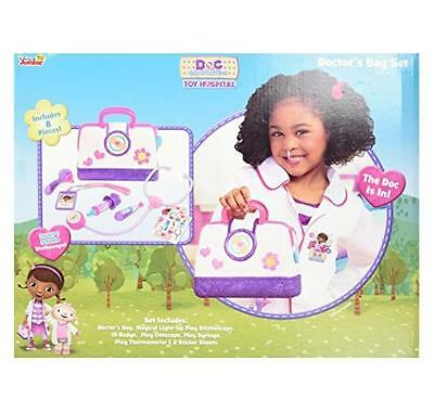 NEW Just Play Doc McStuffins Hospital Doctor's Bag Set Children's Play Set