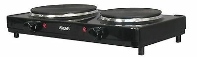 Aroma AHP-312 Double Hot Plate Black