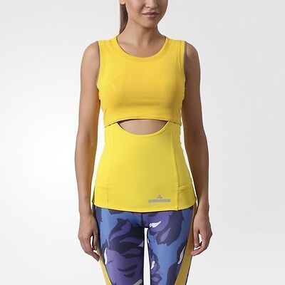 ea82a6c00cf5d WOMEN ADIDAS BY STELLA MCCARTNEY RUNNING PERFORMANCE TANK TOP AA7408 Sz L -   40.50