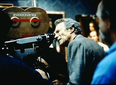 """CLINT EASTWOOD in """"Absolute Power"""" - Original 35mm COLOR Slide - 1997"""