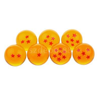 Japanese Anime DragonBall Z 7pcs Stars Balls w/ Box Boys Girls Collectibles