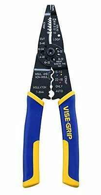 IRWIN VISE-GRIP Multi-Tool Wire Stripper/Crimper/Cutter, 2078309