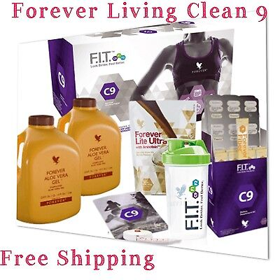 Forever Living Clean 9 Pack-C9 9 Day Detox-Genuine Product-Vanilla��