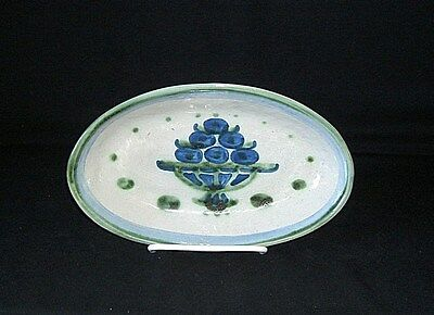 M.A. HADLEY Bouquet OVAL RELISH PLATE DISH