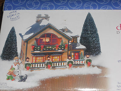 "Discover Department 56 ""Christmas Lake Chalet"" 56.55061"