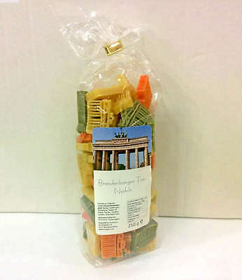 Berlin Pasta - Noodles NEW/OVP colourful From brandenburg Tore (1,80€/100g)