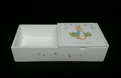Peter Rabbit Eden Gift Wood Collection Beatrix Potter Jewelry White