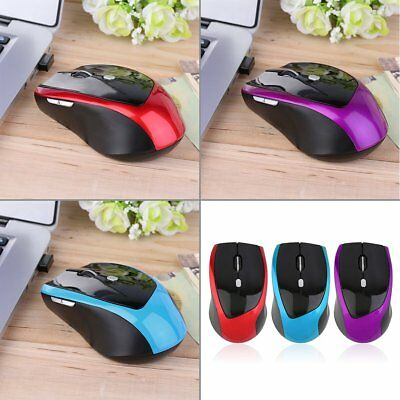 2.4GHz 6 Buttons Wireless Mouse Mice for Laptop PC Computer+USB Receiver M2