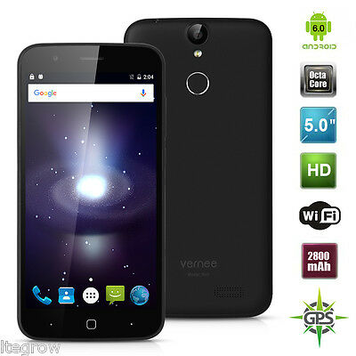 Vernee Thor 4G Cellulare Android 6.0 MT6753 Octa-Core RAM 3GB + ROM 16GB IT