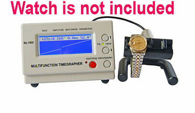 No.1000 Mechanical Watch Timing Tester Time Grapher Multifunction Timing Machine