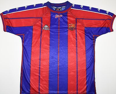 1997-1998 Barcelona Kappa Home Football Shirt (Size M)