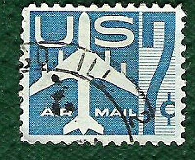 Postage Stamps  United  States of America - 7c Airmail