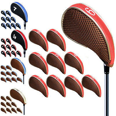 Callaway Golf Iron Headcovers With Neoprene and Nylon Material 10pcs/set Cover