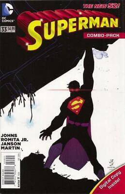 Superman #33 (Vol 3) New 52  Combo Pack (Polybagged)