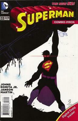Superman #33(Vol 3) New 52  Combo Pack (Polybagged)