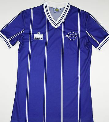 edcffb20812 1983-1985 LEICESTER CITY Admiral Home Football Shirt (Size S ...