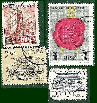 Postage Stamps   Poland - 10 stamps