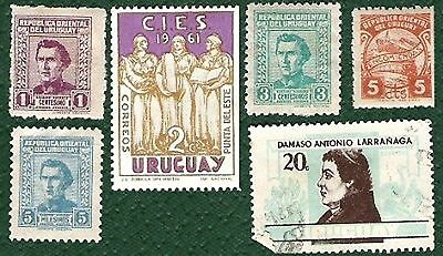 Postage Stamps Uruguay
